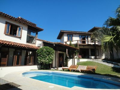 Great house sea view, pool, sauna, barbecue grills., 6 Q and 5 suites w / a
