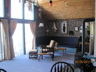 Prospect Harbor cottage photo - Living room