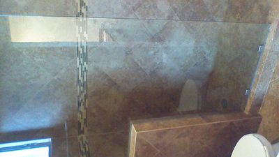 large master bath shower