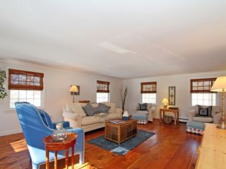 Brewster house photo - Very spacious family room with flat screen TV - great for game night.