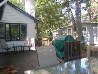 Copake house photo - Hang out on the deck just off the dining room, relax and enjoy the view