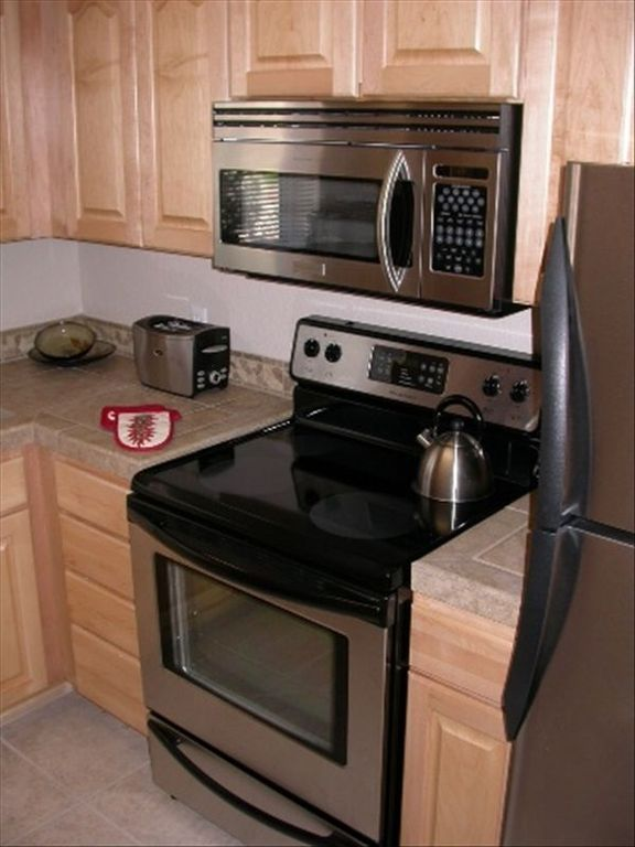 All New, High Quality, Stainless Steel Appliances.