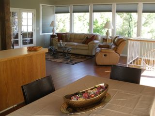 Sedona house photo - Living-room w windows bringing the outside in