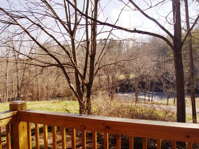 Waynesville cottage rental - Great River View