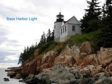 Bass Harbor Lighthouse-Most Photographed Lighthouse on the East Coast.