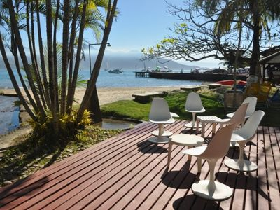 Paradise on Earth - standing on the sand! (Private beach in Ilhabela)