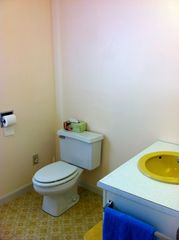 Rye house photo - Full bath with tub on lower level