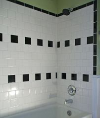 Hyannis - Hyannisport house photo - All new tiled bath has ideal water pressure for a nice relaxing shower...