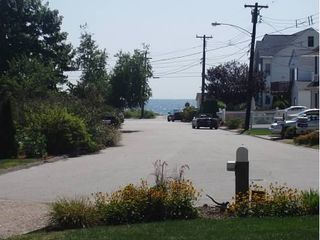 Niantic house photo - View of water at Oak Grove Beach from front yard