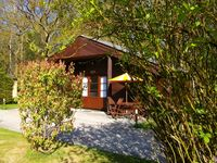 Lodge in Peaceful Woodland Setting with use of Heated Indoor pool and games room