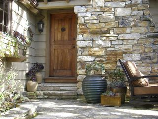 Carmel cottage photo - Charming front door and patio