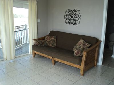 Gulfport house rental - Futon