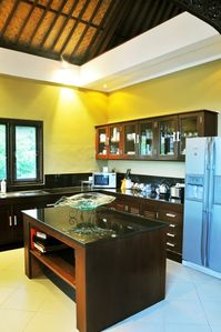 Jimbaran villa rental - Show kitchen
