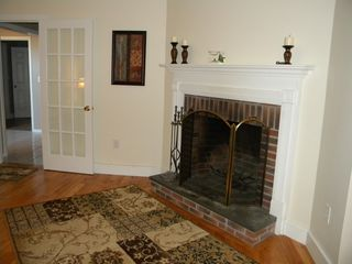 Ludlow house photo - Fireplace in Living Area.