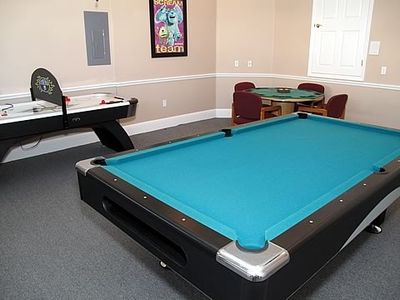Carpeted and Air conditioned Game Room