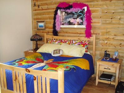 Nathrop cabin rental - The Master Bedroom