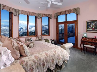 Master Suite surrounded by great views!