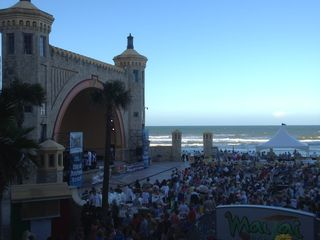 Daytona Beach house photo - The historic bandshell at the Daytona pier (during a Memorial Day concert).