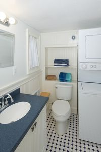 Full Bath with Washer / Dryer