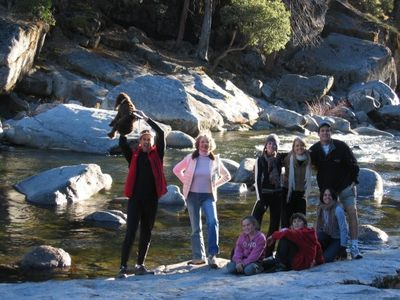 From our family to yours... Come join us!  (Photo taken at the Stanislaus River)