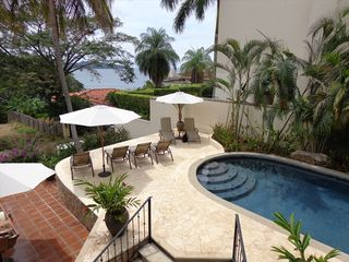 Playa Flamingo house photo - Private swimming pool with water slide and jacuzzi