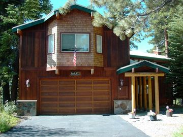 Tahoe City house rental - Front of Home
