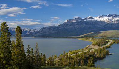 Jasper Lake - great spot to stop in the summer and wade in the shallow waters