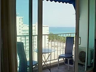 Isla Verde apartment photo - Balcony that overlook 3 areas,Strip of Isla Verde, SJ Hotel & partial ocean view