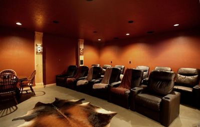 Theater Room For Groom and His atttendants