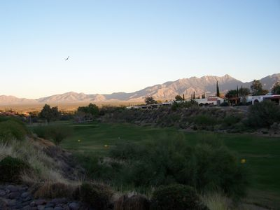 Mountain & Golf Range Views..From your casita!