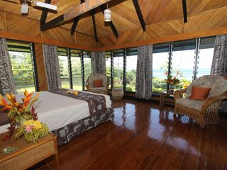 Taveuni house photo - View from master bedroom.