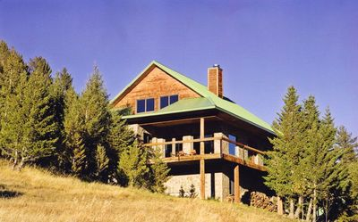 A great get away home in the mountains