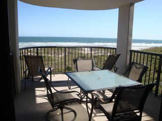 Wrightsville Beach condo photo - Gorgeous views of the ocean from the patio!