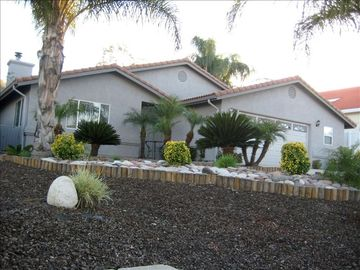 Canyon Lake house rental - From the front yard you have a beautiful view of the mountains.