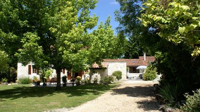 Charming single storey barn Dordogne/Charente border
