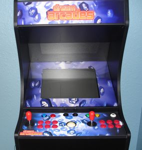 Arcade machine has over 125 games to enjoy on the 3rd floor in kids room.