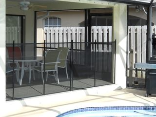 Vanderbilt Beach house photo - Removable safety pool fence