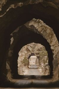 """TUNNELS"" ONE MILE FROM US AND GREAT FOR OFF ROADING................"