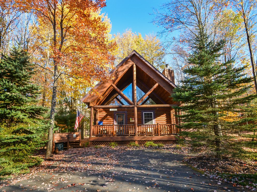 Amazing Log Cabin Perfect For A Couple 39 S Vrbo
