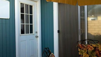 Ocean Beach bungalow rental - Entry to your private retreat.