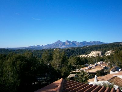 Altea apartment rental - View from Property