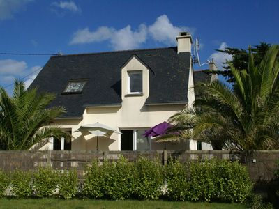 Detached house at the ultimate beach for water sports point of Brittany