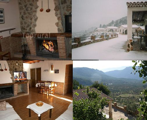 Self catering El Mirador del Segura for 34 people