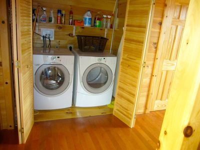 New/Large Washer & Dryer