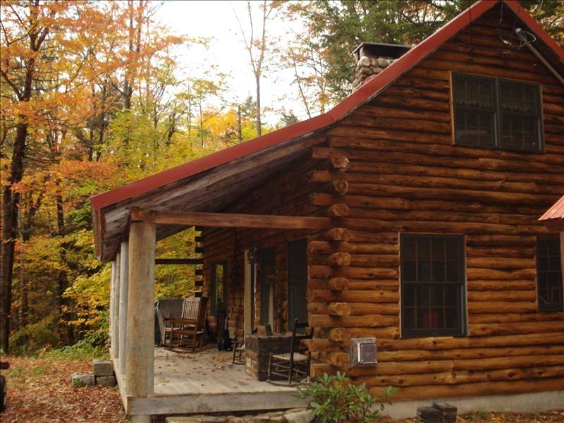 Romantic Log Cabin In Jackson New Hampshire Vrbo