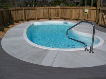 Surf City house rental - Cool off in the private pool.