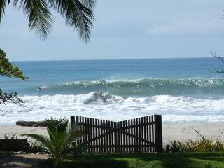 Mal Pais estate photo - View from Sandy Lane's beachfront gate
