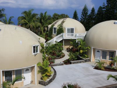 Dome setting with unit privacy