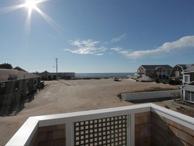 Watch Hill condo rental - View of the ocean from the second balcony