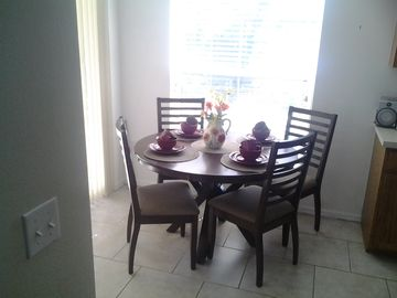 Brand new dining suite